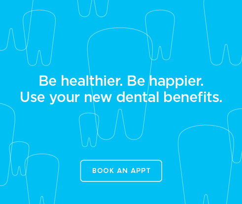 Be Heathier, Be Happier. Use your new dental benefits. - Long Beach Smiles Dentistry